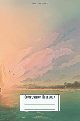 Composition Notebook: Far Away Workbook for Girls Kids Teens Students for Back to School