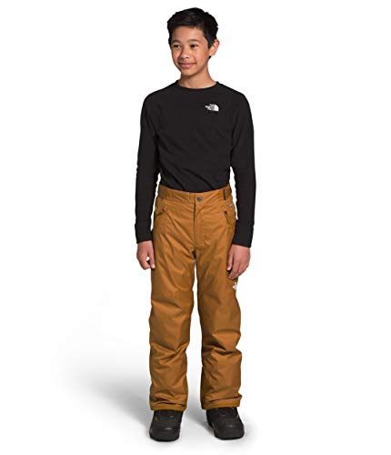The North Face Boys' Freedom Insulated Pant, Timber Tan, L