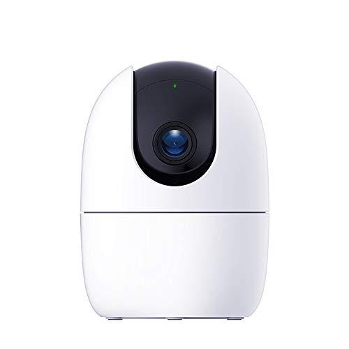 Babybewakingscamera, Intelligente Bewaking En Alarmverzending Zonder Geheugenkaart Intelligente Tracking Bewakingscamera Met 360 ° Dekking,White
