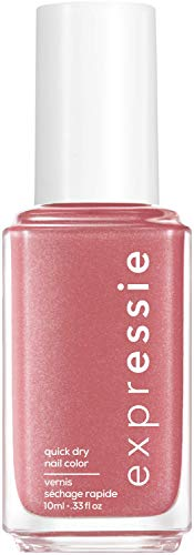 """Essie Schnelltrocknender Nagellack """"expressie"""", Nr. 30 trend and snap, Pink, Vegane Formel, 10 ml"""