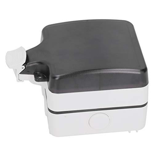 Caja de enchufe impermeable Caja de enchufe impermeable al aire libre durable estable para balcón
