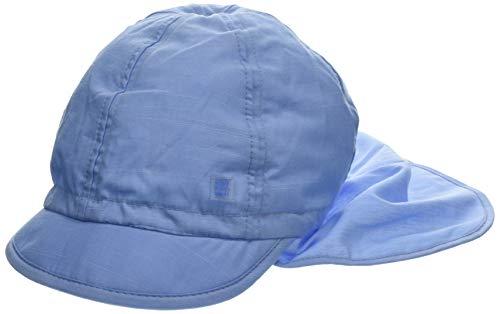 maximo Jungen Schildmütze, Nackenschutz, Bindeband Mütze, Blau (Cerulean 21), 53