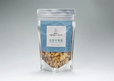 出雲の藻塩 燻製 ナッツ スモークナッツ 【�蟹ZUMOAI 燻製工房 雲藍】 (100g, 1個)