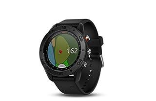 Garmin Approach S60 GPS-Golf-Uhr mit Schwarz Silikon Band, Schwarz (B07237NH19)   Amazon price tracker / tracking, Amazon price history charts, Amazon price watches, Amazon price drop alerts