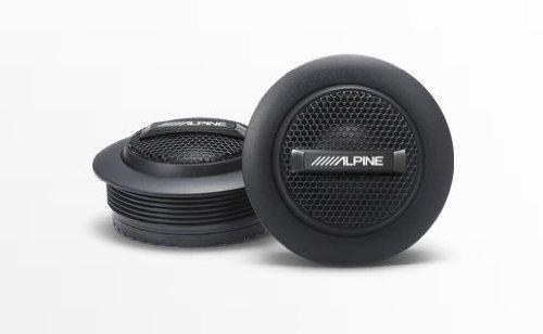 Alpine SPS-110TW Type S1 Silk Dome Tweeter Set