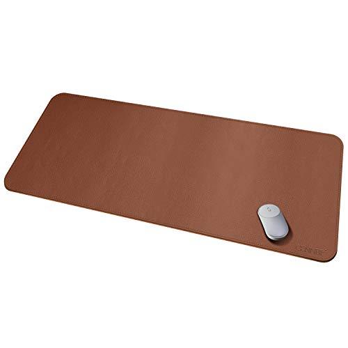 Protezione per scrivania in pelle Protector 130x60cm Supporto per scrivania - Accessori per scrittoio impermeabili - Tappetino per mouse rettangolare rettangolare antiscivolo esteso