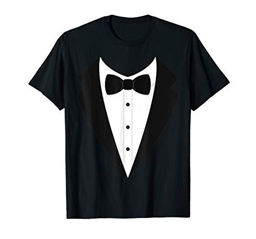 JGA Karneval Frack Kostüm Gruppen Anzug Fliege T-Shirt