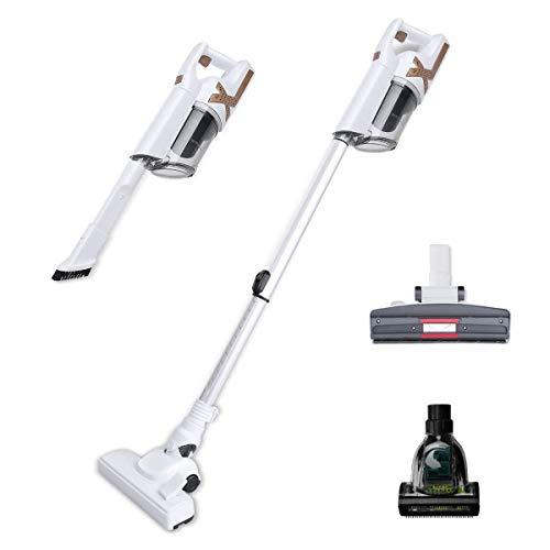 Cordless Vacuum Cleaner, 3 in 1 Lightweight 13 KPa Stick Vacuum Cleaner, 120W Motor Portable Vacuum Cleaner for Home, Indoor, Hardwood Floor,Carpet and Pet
