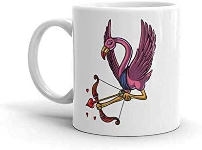 Keyboard cover Flamingo Cupid Taza de San Valentín Flamingo Cute Coffee Mug Regalo del Día del Padre Amor Romántico taza de regalo para mujer en el Día de San Valentín