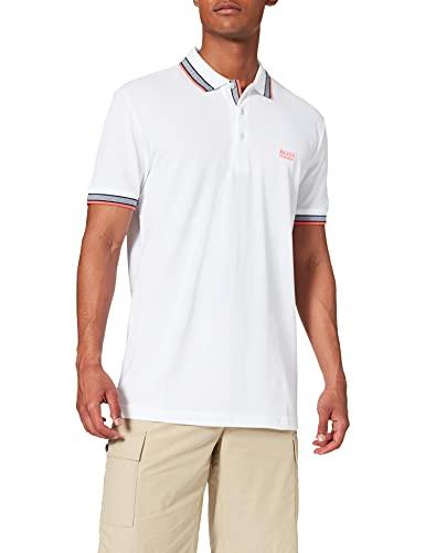 BOSS Paddy Camiseta Polo, Blanco (Natural 108), XXL para Hombre