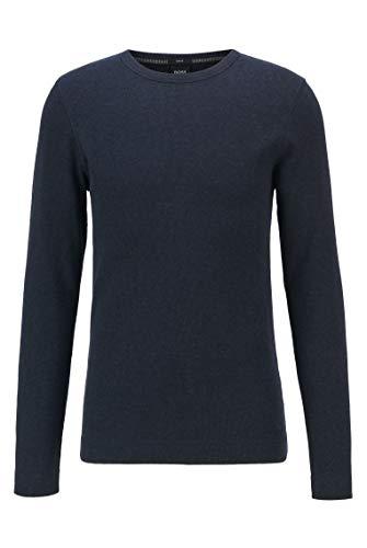 BOSS Herren Tempest Sweatshirts, Dunkelblau, L EU