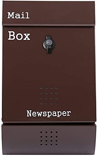 buzones de correos exterior Caja De Letras De Pared Al Aire Libre...