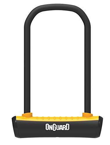 Onguard Neon U-Lock - Antifurto per adulti, unisex, 115 x 230 mm, 11 mm, colore: Arancio