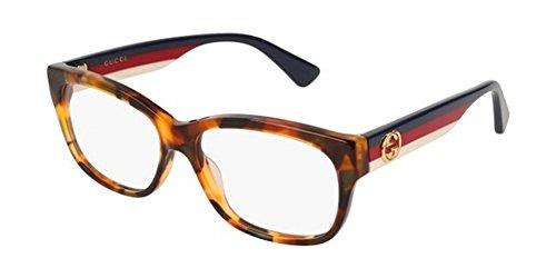 Gucci GG0278O-008 Estuches para anteojos, LA HABANA, 55.0 para Mujer