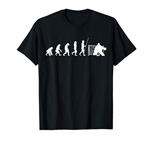 Eishockey Torwart I Goalie | Ice Hockey Evolution Geschenk T-Shirt