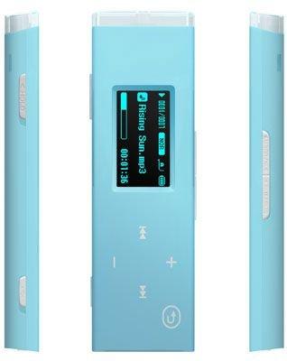 Samsung YP U 3 J ZL XET - Lettore MP3 da 2 GB, con sintonizzatore FM, colore: Blu