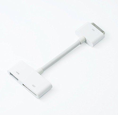 QUMOX 30pin Muelle Conector a HDMI HDTV TV Cable Adaptador para iPhone 4 4s iPad 1 2 3: Amazon.es: Electrónica