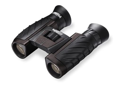 Steiner Safari UltraSharp 10x26 binoculars - Lightweight, high magnification, rugged, compact - Perfect for travelling, hiking, sports events and nature observation