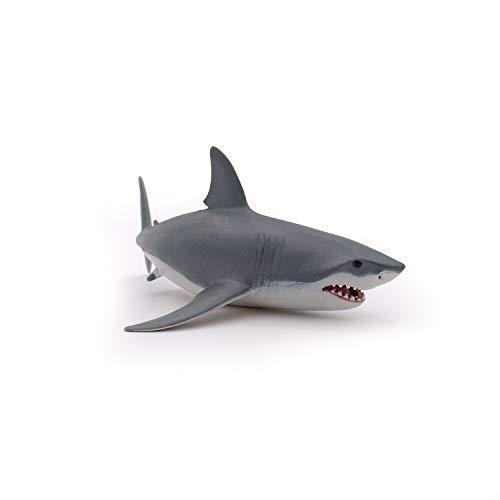 Papo 56002 - weißer Hai, Spielfigur