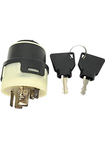 Interruptor de encendido con 2 llaves para JCB New Holland NH Case 701/80184 85804674 50988 JCB 3cx 4cx