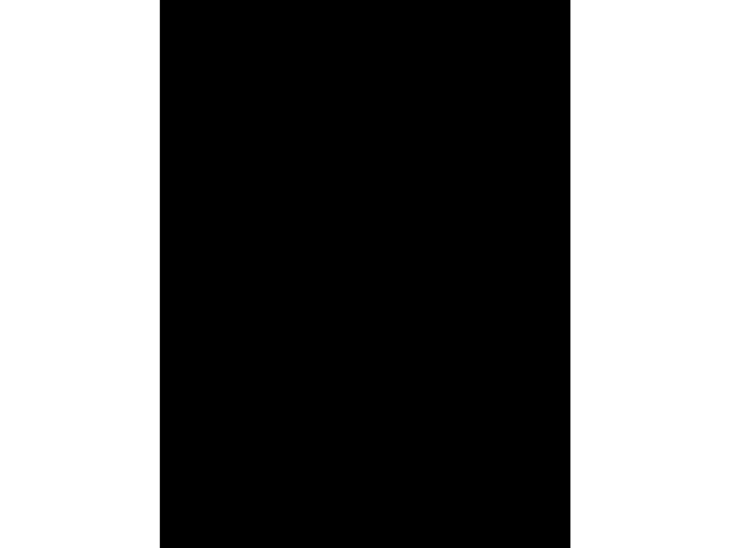 PA Framing ADF WhtCore 5pc Mat Blanks 9x12 Black