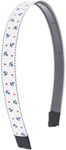 Küstenluder Schlichter Sailor Anker Anchor Perrin Bow Haarreif/Hairband Rockabilly