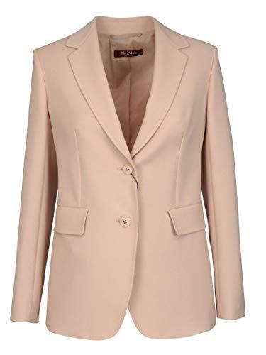 Luxury Fashion | Max Mara Studio Dames 6041020706006 Roze Wol Blazers | Lente-zomer 20