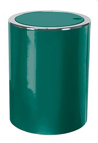 Kleine Wolke Kosmetikeimer, ABS, Smaragd, Eimer 5 L