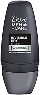 Dove Men+Care Antiperspirant Deodorant Roll On Invisible Dry, 50ml