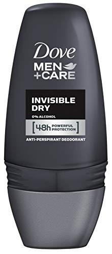 Dove Men+Care Antiperspirant Deodorant Roll On Invisible Dry, 50ml