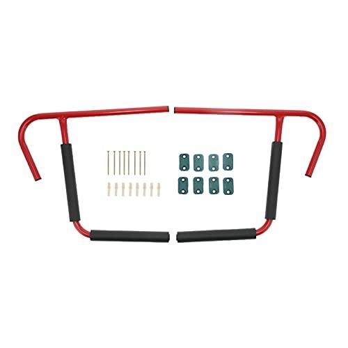 Escalera de Soporte para Kayak, Conveniente Colgador de Kayak de Acero al Carbono de 80 kg de Oso Rojo y Negro para sillas Plegables para escaleras de Tablas de Surf