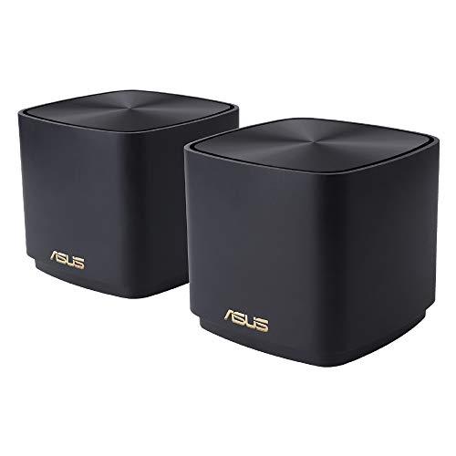 ASUS WiFi 無線 ルーター WiFi6 1201+ 574 Mbps デュアルバンド ZenWiFi XD4/B メッシュ 機能付3階建/4LDK