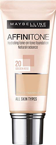 Maybelline Affinitone 24H Long Lasting Foundation SPF19 30ml - 10 Ivory