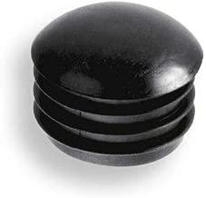 para tubos redondos cabeza redondeada con l/áminas pl/ástico negro 20 Deslizador//tap/ón