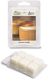 Country Jar Pumpkin Souffle Scented Wax Melt Soy Tarts (6-Cube Pk) Sale! 20! Off 3 or More!