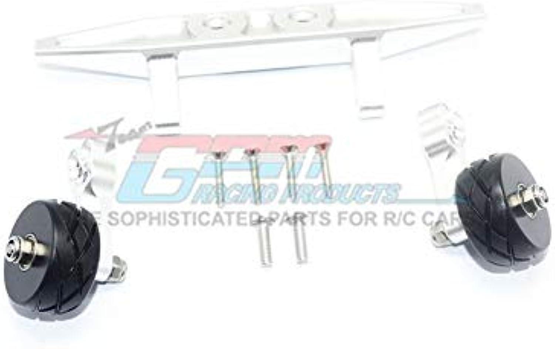 Traxxas Rustler 4X4 VXL (670764) Upgrade Parts Aluminum Rear Adjustable Wheelie  1 Set Silver