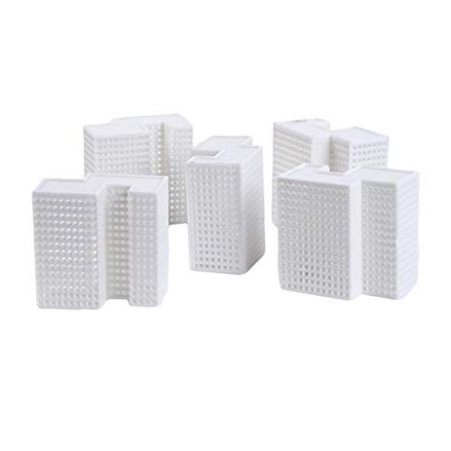 SM SunniMix 砂のテーブル キット オフィスビル ミニチュア ビルディングモデル DIY 装飾 アクセサリー 5個入り - C
