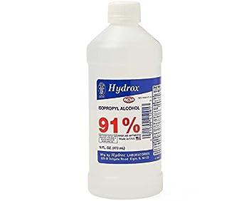 Hydrox 91 Isopropyl Rubbing Alcohol  1