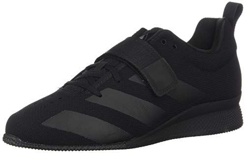 adidas Men's Adipower Weightlifting II Cross Trainer, Black, 10.5 M US