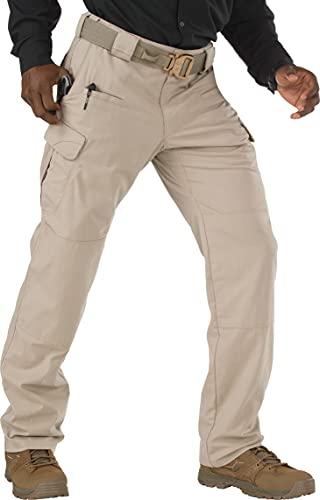 5.11 Tactical Men's Stryke Pants w/Flex-Tac Mechanical Stretch, Style 74369, Khaki, 34x30