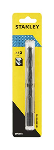 Stanley STA50115-QZ Broca HSS-R laminada para metal ø 12mm