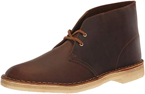 Clarks Men's Desert Chukka Boot, Beeswax, 115 M US