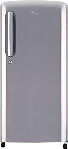 LG 190 L 4 Star Direct Cool Single Door Refrigerator(GL-B201APZY, Shiny Steel, Inverter Compressor)