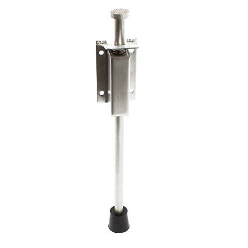Pedal Türstopper 118-146mm Edelstahl Türfeststeller Bodentürstopper Türbremse