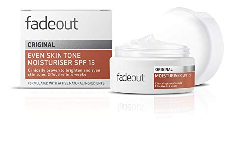 Fade Out Original Even Skin Tone Moisturizer with SPF15 - Face Cream to...