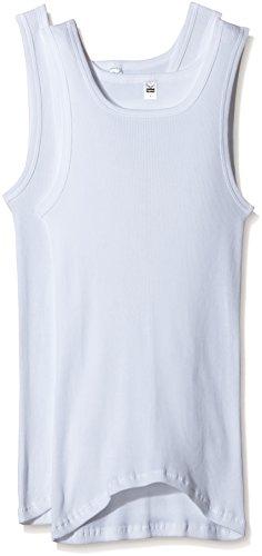 Trigema Herren 6624002 Unterhemd, Weiß (Weiss 001), Medium (Herstellergröße: 6) (2er Pack)