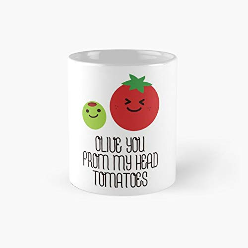 Olive You From My Head Tomatoes Classic Mug 11 Oz