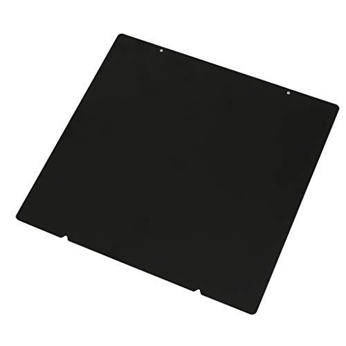 KESOTO Federstahlblech Heizbett Plattform Druckplatte Heißbett mit Loch für Prusa i3 MK2.5S MK3 MK3S MK52