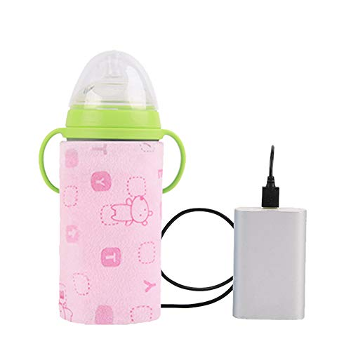 Learn More About Velidy Travel Portable USB Baby Bottle Warmer Bag 42° Constant Temperature Milk Bo...