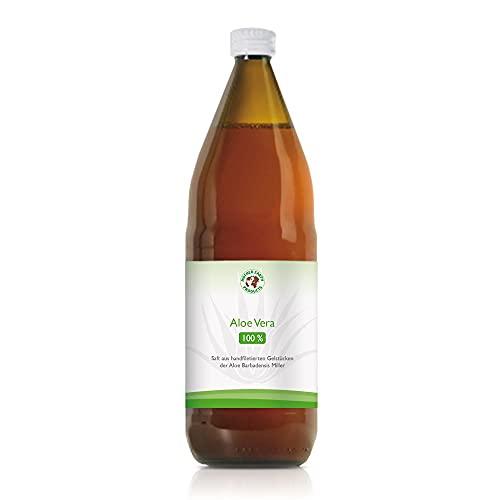 Aloe Vera Saft 100% BIO Direktsaft – 1200mg/l Aloverose – Handfiletierte Aloe Vera – In Deutschland kontrollierte Qualität (1)